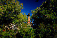 Currituck Lighthouse through the trees...