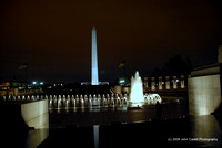 Reflection Pool at the World War II Memorial