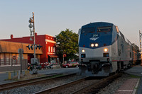 AMTRAK northbound through Ashland June 2012