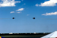 Blue Angels X-cross approach-1