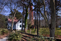 Currituck Lighthouse - Lighthouse Keeper's House