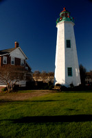 Christmas comes to the Old Point Comfort Lighthouse