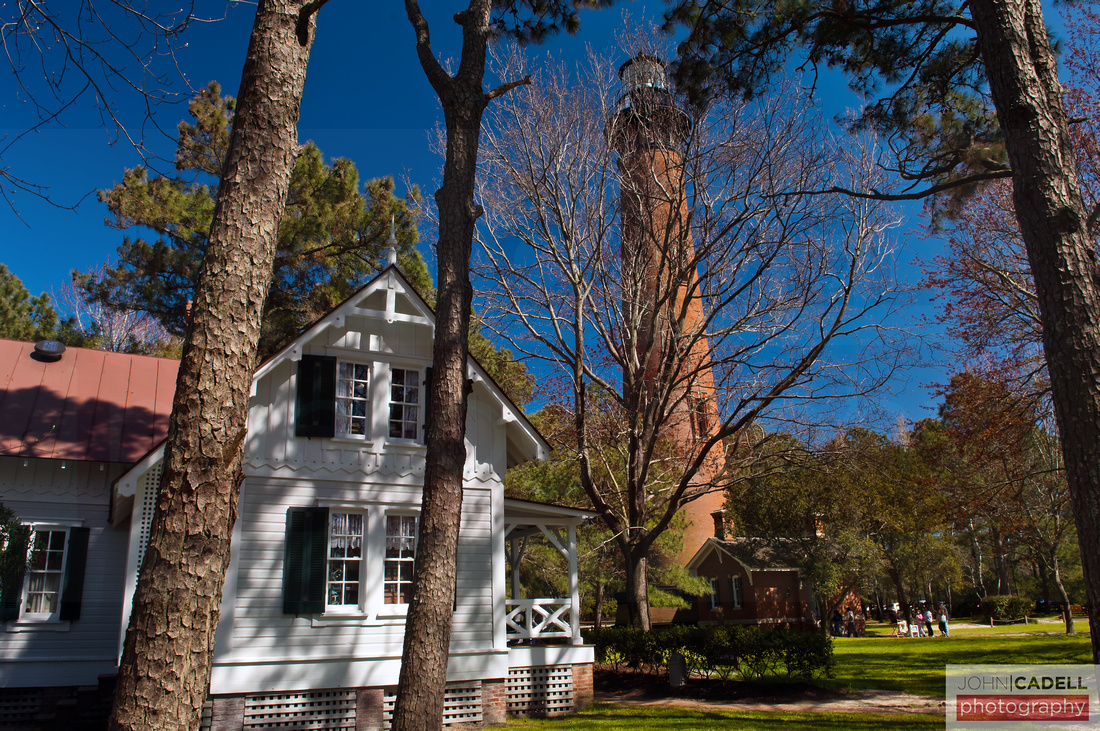 Currituck Beach Lighthouse, Corolla, North Carolina - © John Cadell Photography