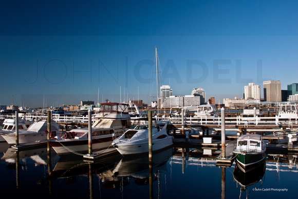 Porstmouth City Marina, Portsmouth, Virginia - © John Cadell Photography