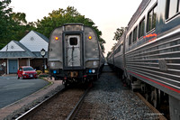 Rush Hour - AMTRAK style in Ashland VA June 2012