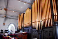 Organ and Pipes of Freemason Street Baptist Church