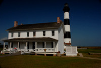 Bodie Island Lighthouse - Lighthouse Keeper's House